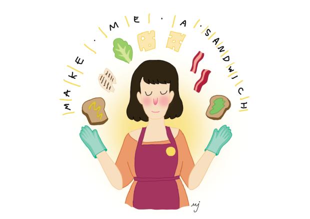 Make Me A Sandwich by Molly Johanson
