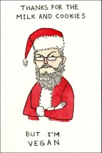 Vegan Santa Claus