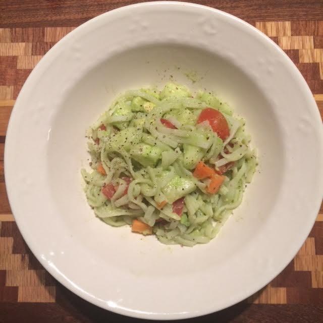 avocado pasta salad