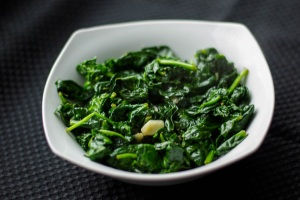 Sauteed-Spinach-with-Garlic