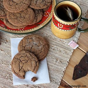 The Yummy Life Molasses Cookies